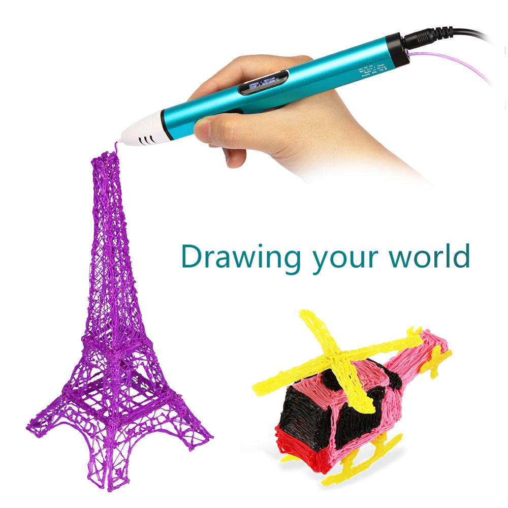Christmas gift 3D drawing multi color ball pen ink remover pens with custom logo