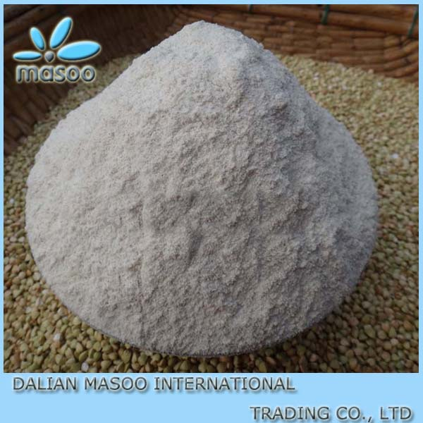 High quality masoo buckwheat of organic roasted dark buckwheat flour
