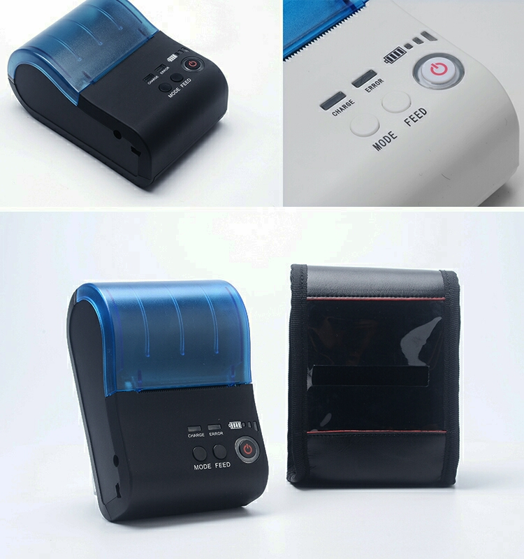 Factory direct sale New product hot sale 58mm mini portable bluetooth thermal printer BT-II