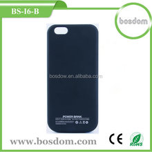 BS-I6-B 3200mah super slim backup battery charger case for iphone6