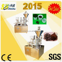 powder automatic coffee capsule filling and sealing machines