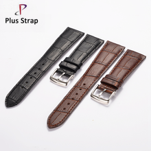 New universal cowhide leather watchband steel clasp <strong>bamboo</strong> pattern fashion men & women calf skin watch straps bracelts flat end