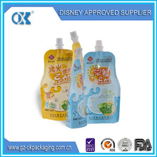 Alibaba china supplier most popular products spout bag/stand up pouch with spout/spout pouch