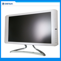 19 inch Widescreen 16:10 LCD LED monitor / PC TV Functions / White Black Color