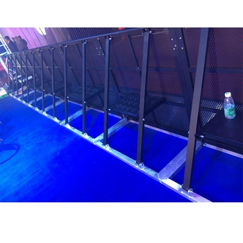 Aluminum event barrier / used crowd control barriers/fence barrier gate