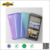 Premium Clear Flexible Soft TPU Back Cover Case for HTC Desire 828