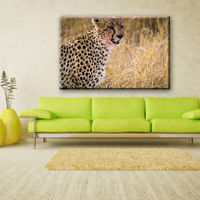 Ferocious leopard decorative pictures for fabric house painting