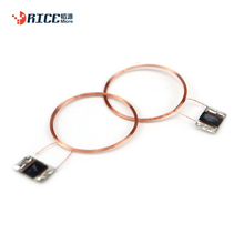 Cheper price 125khz rfid TK4100cob antenna copper wire coil uhf rfid antenna for plastic smart <strong>card</strong>