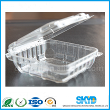 plastic lettuce crisper clamshell packaging for living lettuce