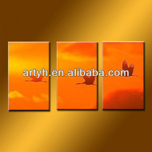 Newest Sunrise Scenery Oil Painting For Decor