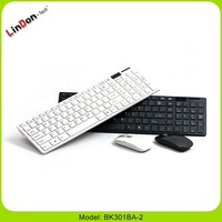 for mac book 2.4g Wireless desktop keyboard and mouse, tablet pc cheap wireless keyboard and mouse