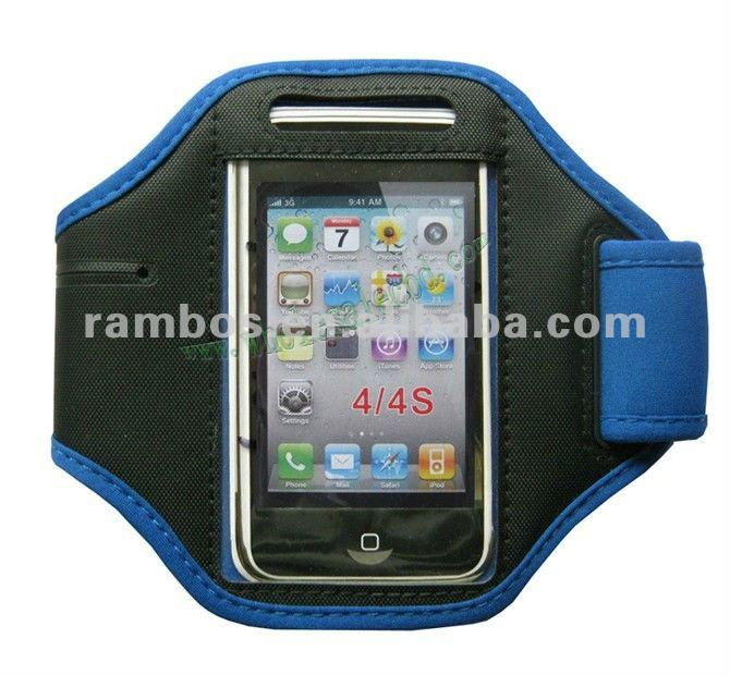 Nylon Sport GYM Arm Band Case Cover for Apple IPhone 4 4G 4S