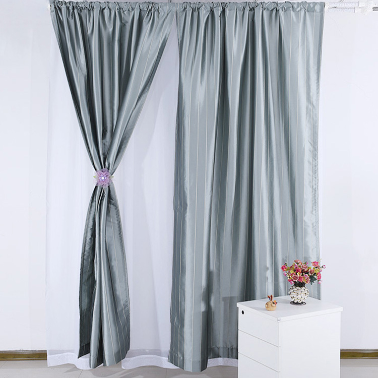 High Quality Simple Style Blackout Hotel Window Curtains