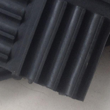 Rubber Damping Pad or rubber cushion blocking used for construction or machinery