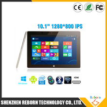 10.1 Inch Win 8 Tablet Pc Intel Quad-core 1.8Ghz 16GB/32GB Wifi Tablet