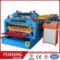 RIB and Glazed Double Layer Forming Machine For Roofing