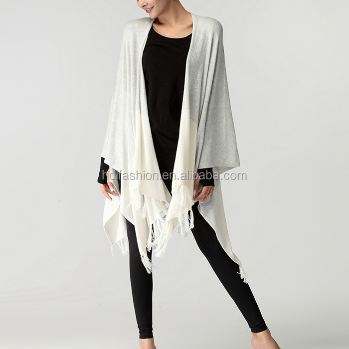 Winter new arrival yoga clothes sports leisure grace fringed wool shawl