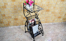 Metal magazine rack XY09-1026