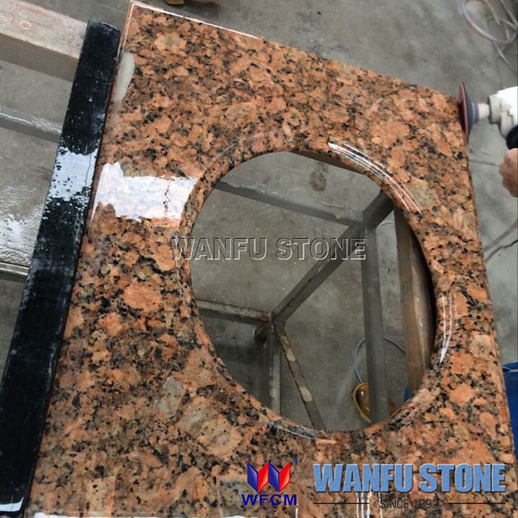 Imperial brown granite bathroom vanity granite vanity top