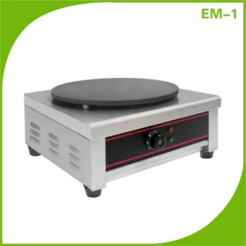 Commercial Double Heads Electric Crepe Maker Pancake Machine With CE Approval 400mm plates