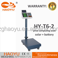 acs price computing scale manual T6-2 500kg platform weighing scales solar panel price