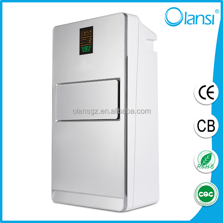 China wholesale CB CE RoHS CQC portable installation ionic air purifier Olans HEPA ionizer air purifier for home
