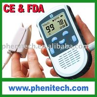 Handheld portable pulse oximeter with CE/FDA