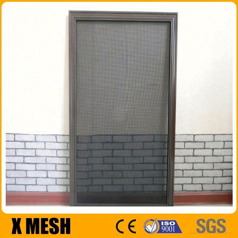 11x11 mesh gray powder coated ss304 stainless steel window screen
