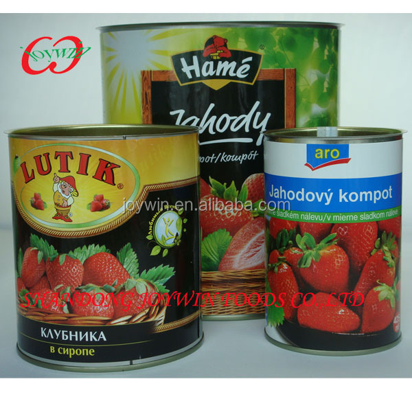 Canned food strawberry NW 0.82kg