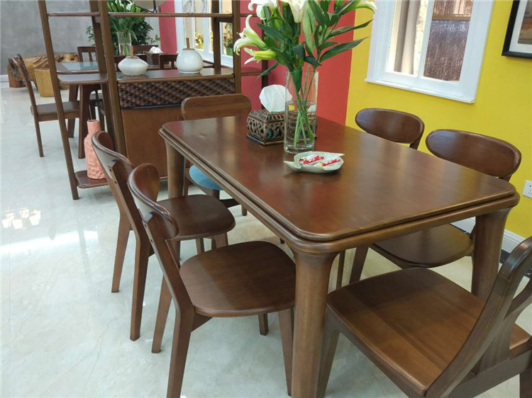 Classic Luxury Modern Wooden Furniture Dining Room Set