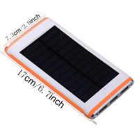 High Efficiency Solar Panel Foldable and Portable Dual-port Solar Charger