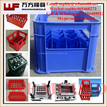 2014 china OEM high quality 24 Bottle Beer Crate mould/12 Bottle plastic Beer Crate mould/plastic mould for 6 Bottle Beer Crate