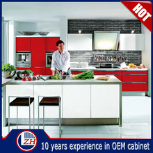2015 new design modern ready to assemble cheap kitchen cabinets