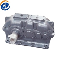 High rpm 1 stage variable speed parallel shaft helical for the chemical industry gearbox prices