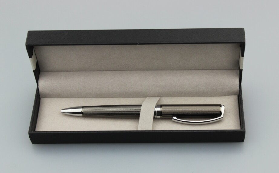 Promotional metal pen and fountain pen set