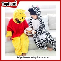 high quality fashion cheap cute winter children cartoon funny pajamas