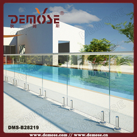 backyard buildings pool fence used movable railing