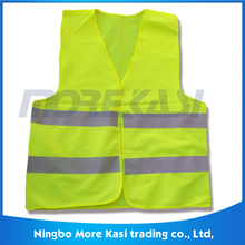 100% Polyster 60gsm Cheap Safety Reflective Vest