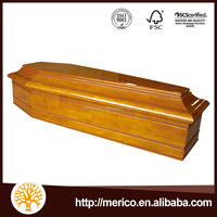 Zinc Coffin Shape Gift Box Antique Wood Coffin in Africa