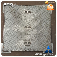Oil tank heavy duty ductile iron manhole cover