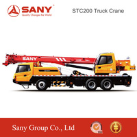 SANY STC200 20 Tons Highly Safety Hydraulic System Truck Mounted Crane of Telescopic Crane