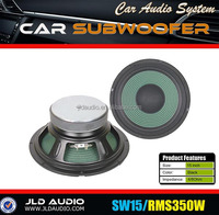 high quality 15-inch bass speakers 350w rms subwoofer driver jld subwoofer