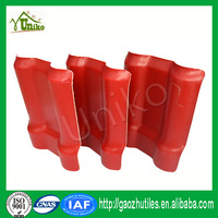 building material for temple construction asa pvc wavy roof tile