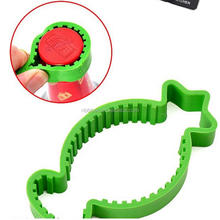 plastic bottle opener ring multifunction can opener novelty households jar opener