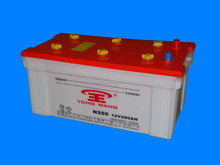 professionally-Producing 12V 200AH Lead Acid Dry Charged Car Battery for Starting