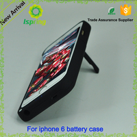 Factory direct cheap power phone case for iPhone 6 6s plus