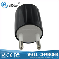 MEOUAN 5V1000mA EU plug universal wall charger for mobile phone and tablets