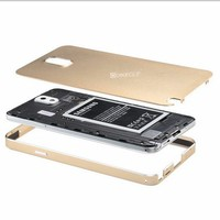 Aluminum case for galaxy note 3 battery cover metal case