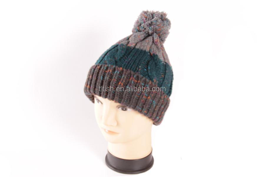 2015 good design pom pom beanie hat