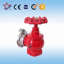 Red Color Pressure Reducing Valve Safety Fire Hydrant Valve For Sale